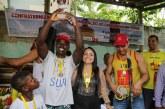 Salva-vidas comemoram data da categoria com nado e corrida em Lauro de Freitas