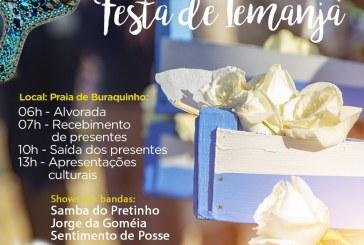 Povo de santo rende homenagens a Iemanjá no dia 2 de fevereiro em Buraquinho