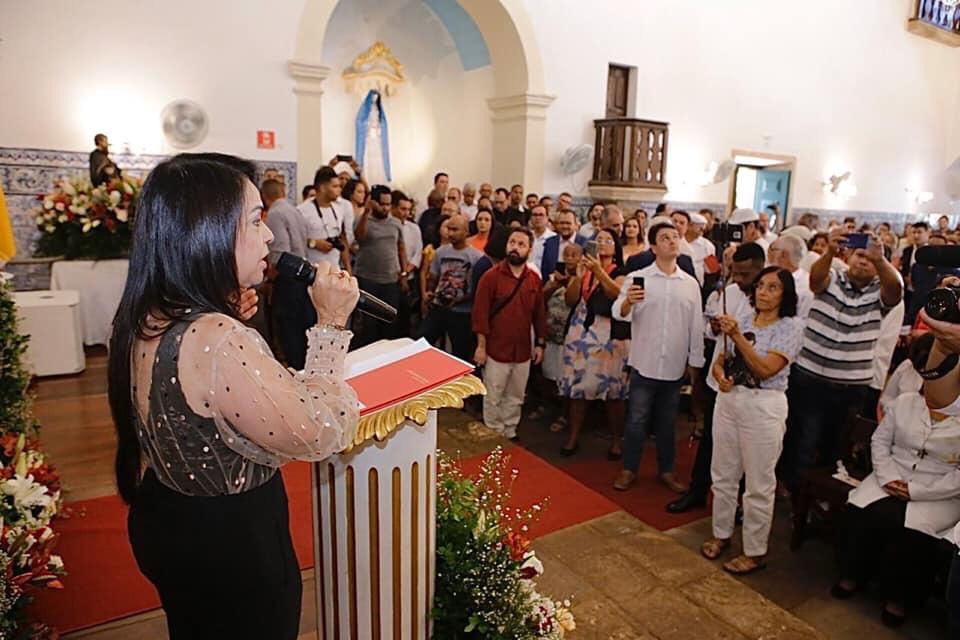 Moema enviará PL sugerindo alteração do atual nome da cidade para o secular Santo Amaro de Ipitanga