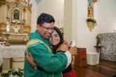 Moema participou da missa de acolhimento do Padre Thiago, novo vigário da Paróquia Santo Amaro de Ipitanga