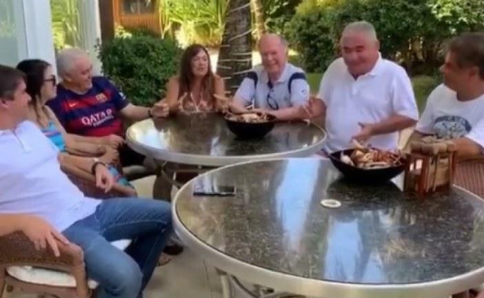"""Coronel reforça aliança com PP em vídeo ao lado de Niltinho e Leão: """"Prenúncio de vitória"""""""
