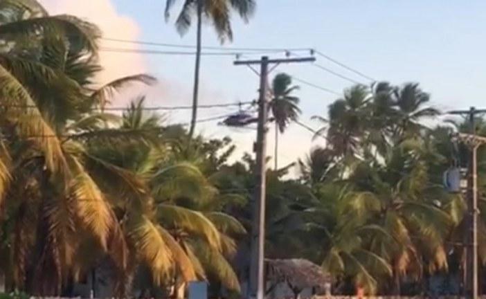 Paraquedista morre ao cair desacordado na Praia de Imbassaí