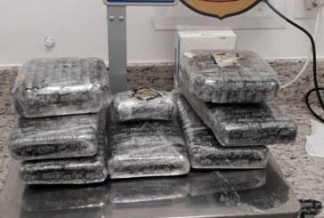 PF prende mulher com 8 kg de cocaína no aeroporto de Salvador