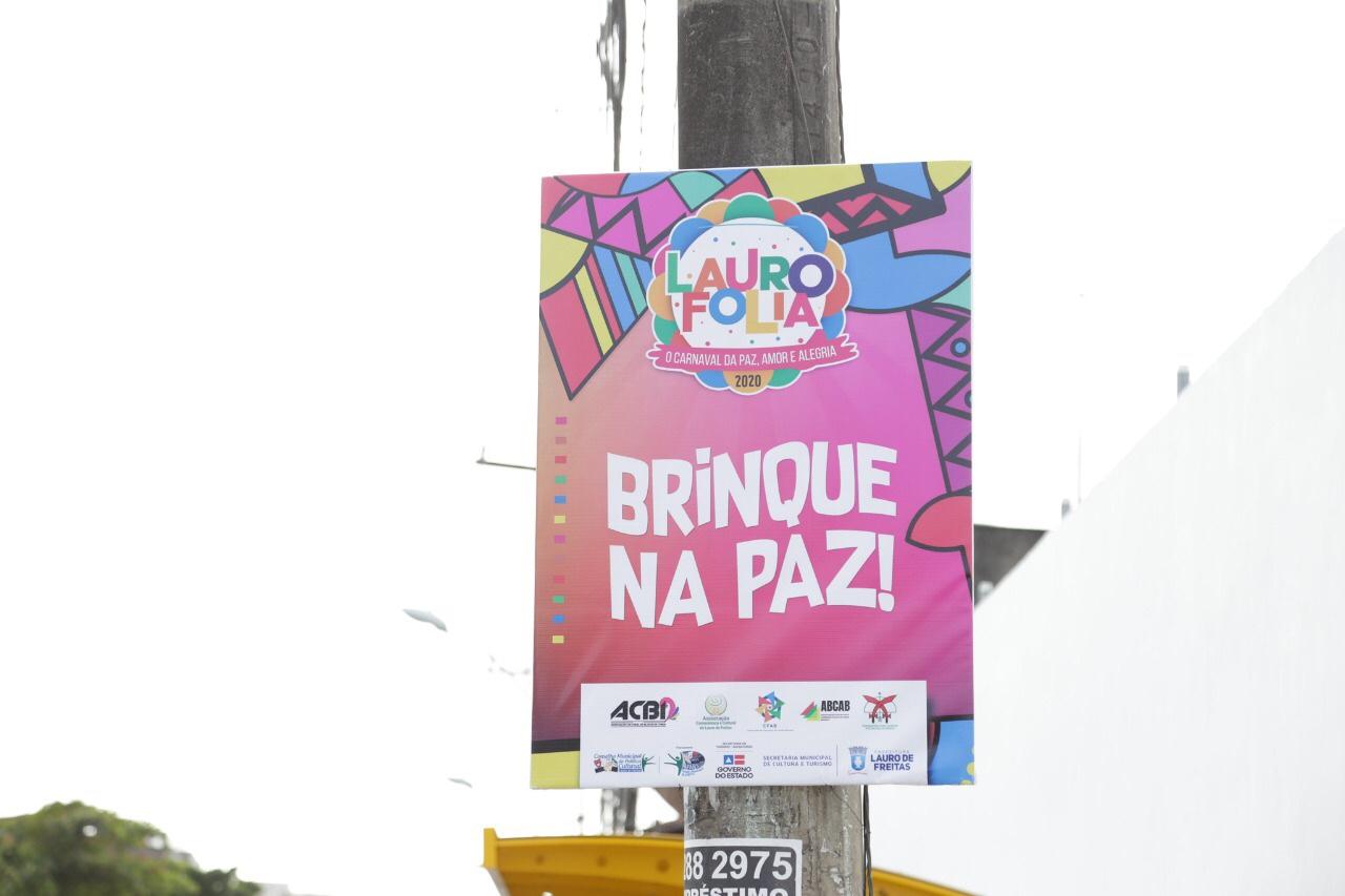 Lauro de Freitas abre folia no Centro com entrega da chave da cidade ao Rei Momo e desfile de blocos na sexta (21)