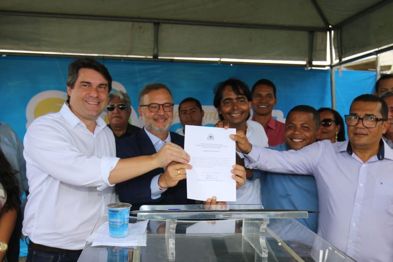 Governo da Bahia inicia construção de UBS em Candeias