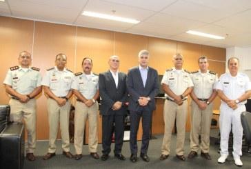 Secretário da segurança recebe novos coronéis da PM