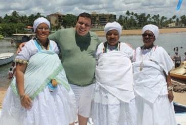 Vereador Isaac de Belchior prestigia a fé e a tradição da Festa de Iemanjá em Buraquinho