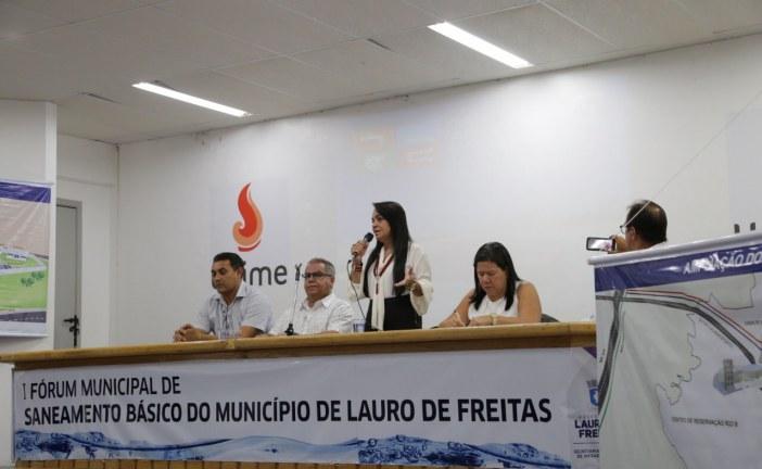 Desafios do saneamento básico do Município de Lauro de Freitas foram debatidos em Fórum