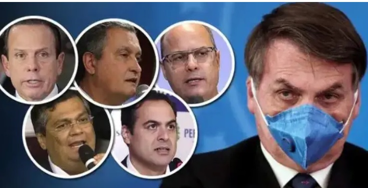 Os 27 governadores reúnem-se e pode surgir poder paralelo ao caos de Bolsonaro