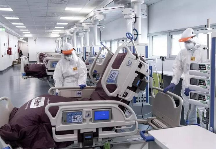 Itália registra aumento de mortes em 24h e passa dos 12 mil