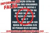 As Fake News das sessões extraordinárias remuneradas para vereadores de Lauro de Freitas
