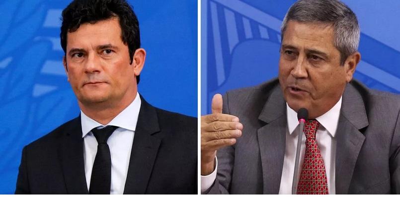 """Moro fica"", diz Braga Netto"