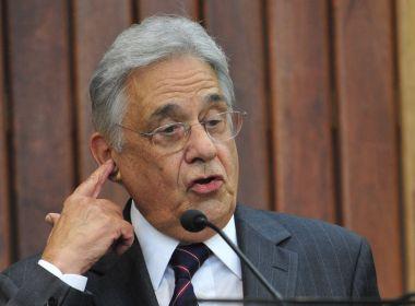 FHC sugere que Bolsonaro renuncie: 'Poupe-nos de um longo processo de impeachment'