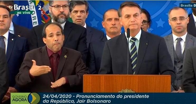 Bolsonaro usa caso Marielle para rebater Moro