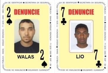 Homicida e traficante são inseridos no Baralho do Crime da SSP-Bahia