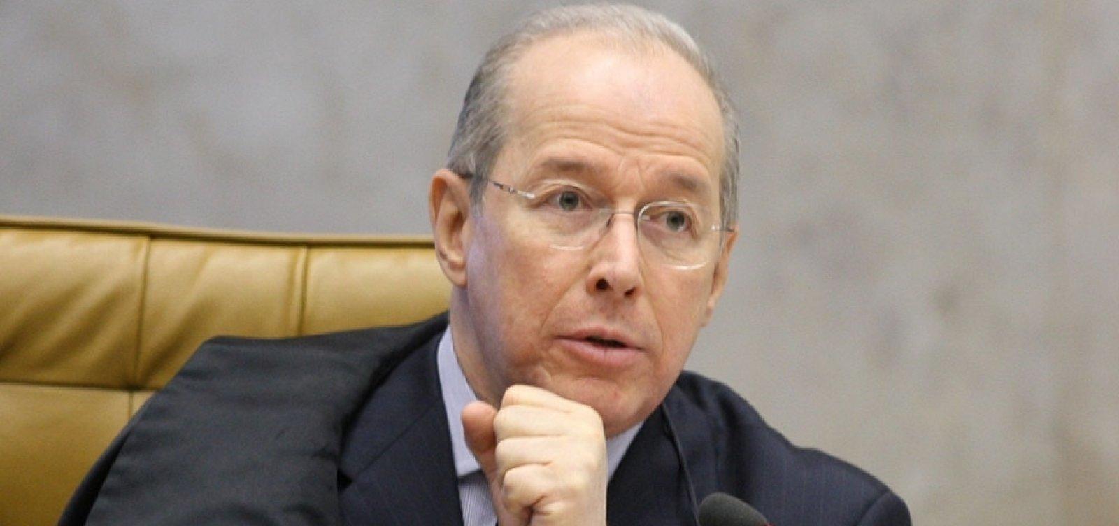 Celso de Mello deve deferir abertura de inquérito para investigar Bolsonaro nesta segunda-feira