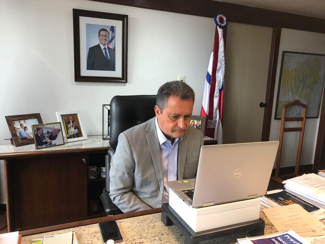 Governador Rui Costa prorroga suspensão de transporte até 15 de abril