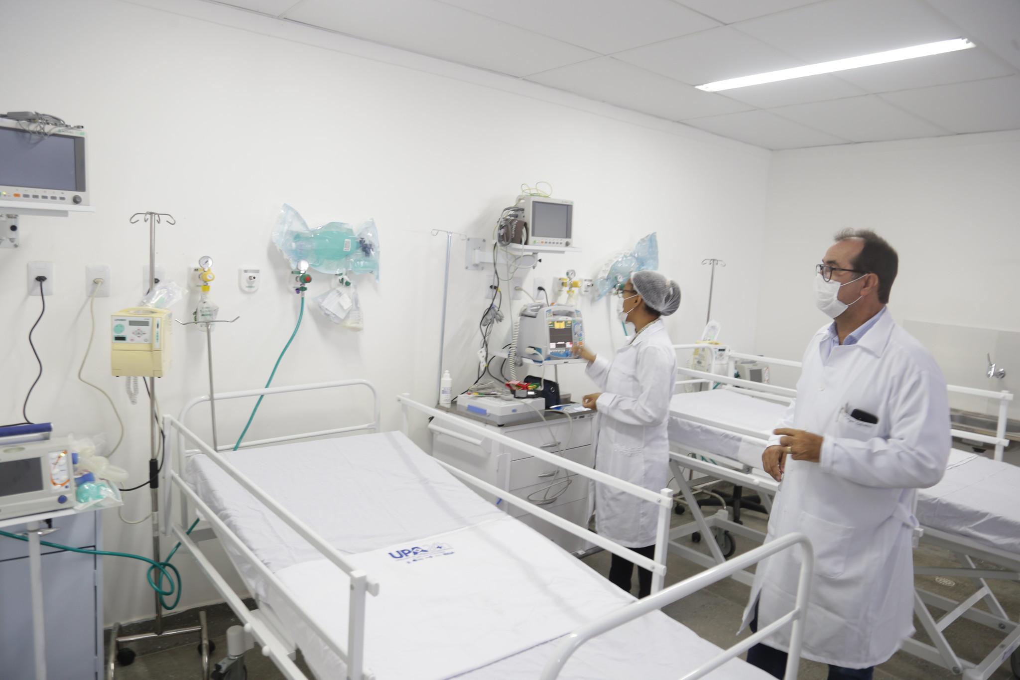 PA Santo Amaro de Ipitanga é unidade referência no atendimento a pacientes com sintomas gripais em Lauro de Freitas