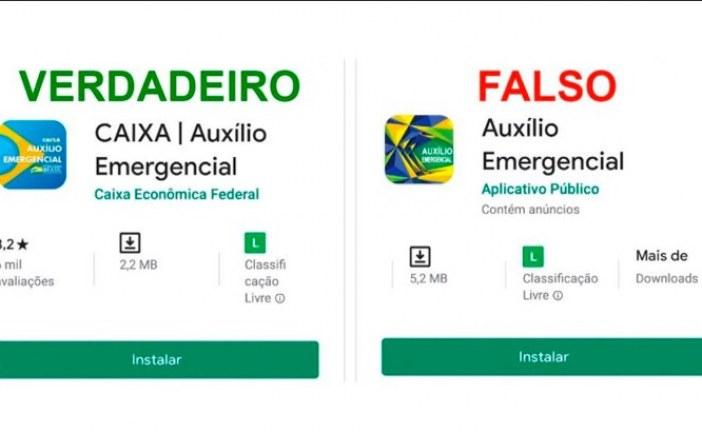 Já tem aplicativo falso do auxílio emergencial. Fique atento com os golpes