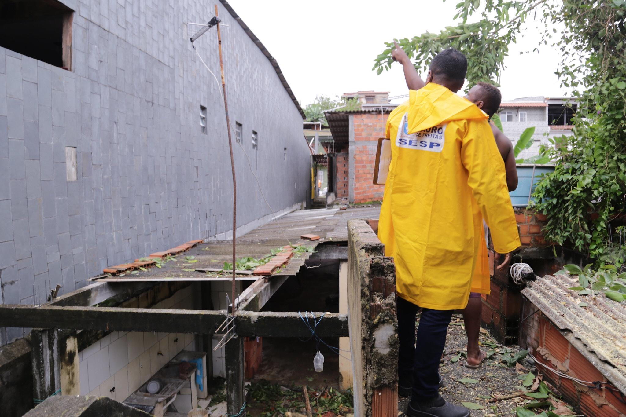 Obras de prevenção reduzem impactos provocados por fortes chuvas em Lauro de Freitas