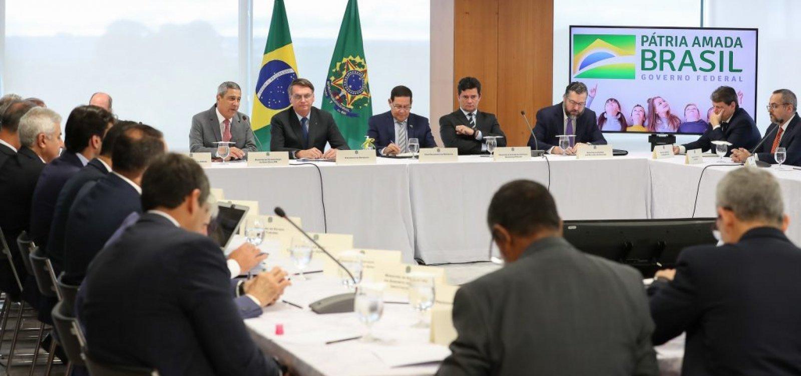 Vídeo da reunião ministerial do governo Bolsonaro é divulgado; veja aqui