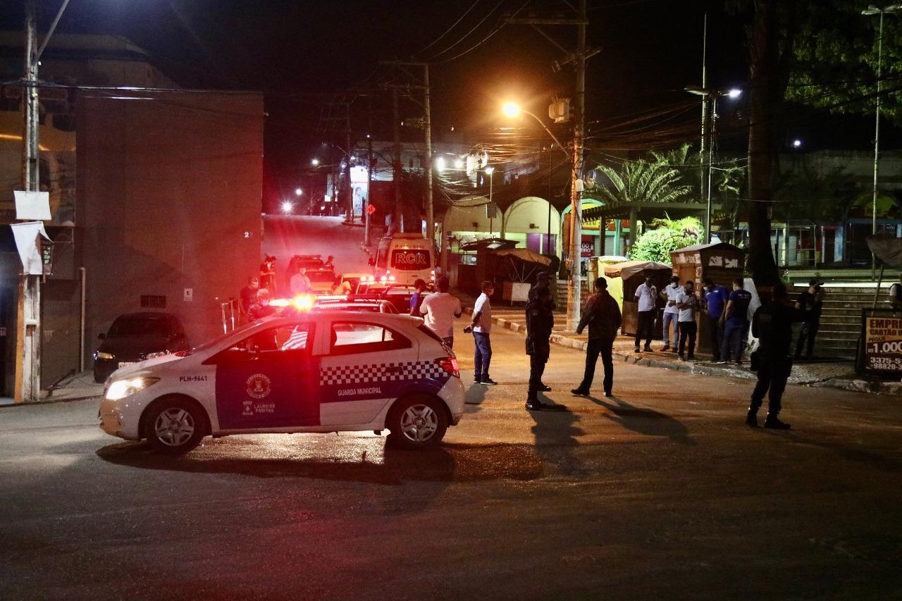 Restrição de circulação reduziu em 72% o número de veículos nas ruas de Lauro de Freitas