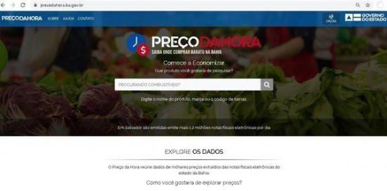 Mais de 200 mil baianos já estão utilizando o app Preço da Hora Bahia