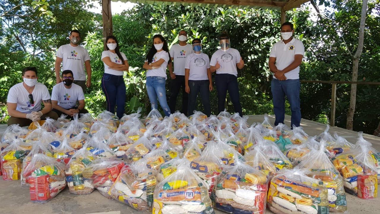 Projeto Gerentes do Bem ajuda mais de cem famílias da comunidade quilombola de Lauro de Freitas