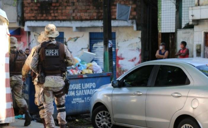 PM amplia ações ostensivas em três bairros de Salvador