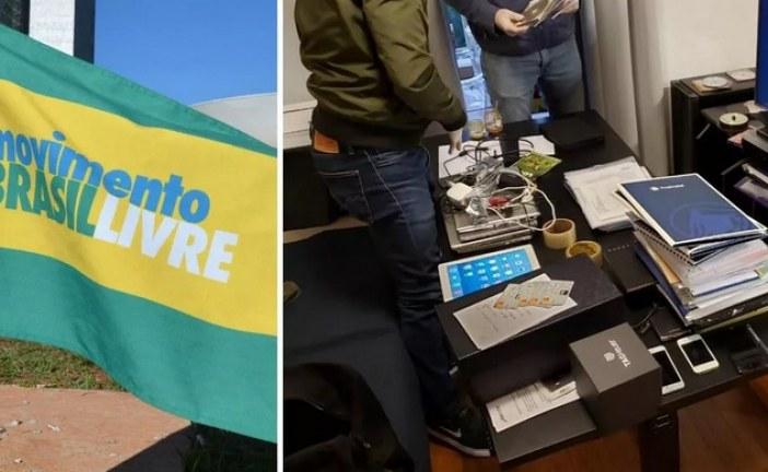 Dois membros do MBL são presos em operação contra lavagem de dinheiro em São Paulo