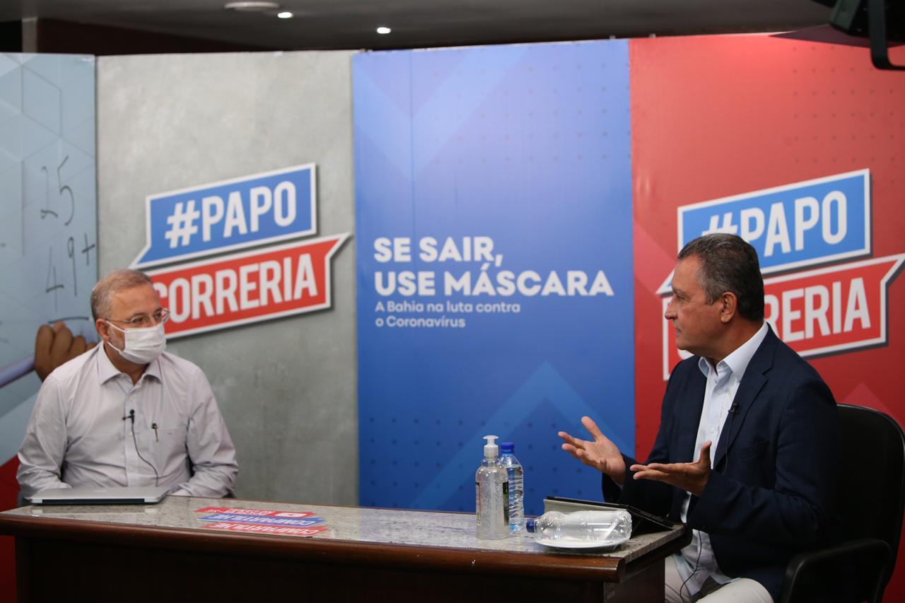 Rui anuncia apoio para testes de vacina para a Covid-19 na Bahia