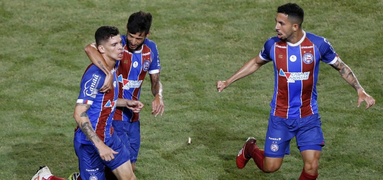 CBF divulga tabela das semifinais do Nordestão; Bahia pega o Confiança em Pituaçu