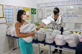 Prefeitura inicia quarta etapa da entrega de kit alimentação nesta segunda-feira, dia 06