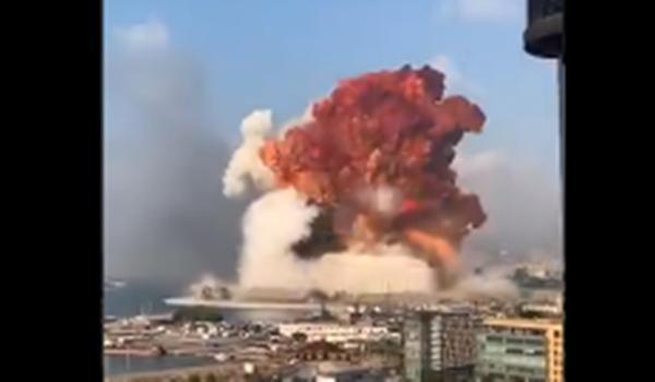 Forte explosão atinge cidade de Beirute, no Líbano, e deixa feridos; vídeos são impressionantes