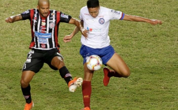 Baianão: Bahia empata com Atlético de Alagoinhas no primeiro duelo da final