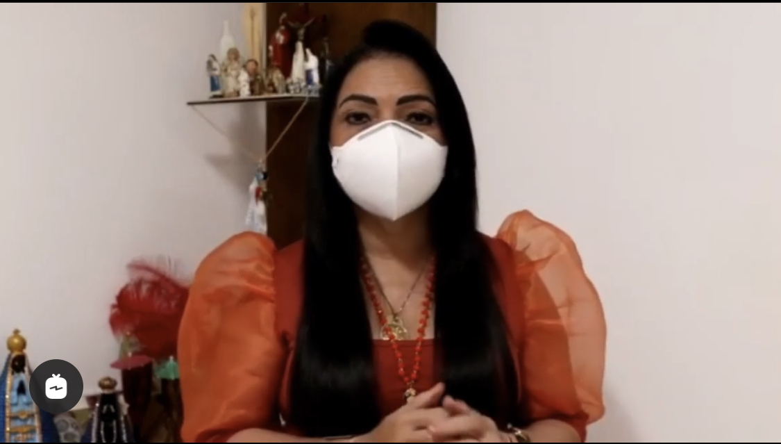 Prefeita Moema testou positivo para o Coronavírus; veja vídeo