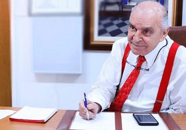 Morre o médico Elsimar Coutinho, aos 91 anos, após complicações do coronavírus