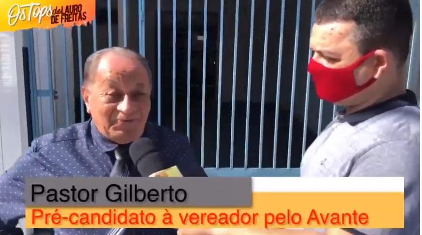 Pastor Gilberto a grande surpresa do Avante de Lauro de Freitas