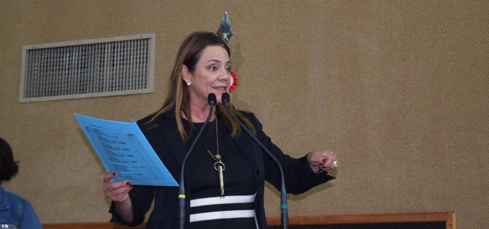 Wagner confirma Fabíola Mansur como vice de Major Denice