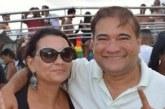 Íris parabeniza o vereador Roque Fagundes, aniversariante do dia
