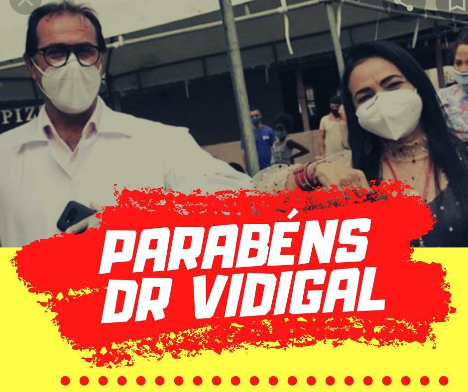 DEFINIDO: Dr. Vidigal é o vice na chapa de Moema 