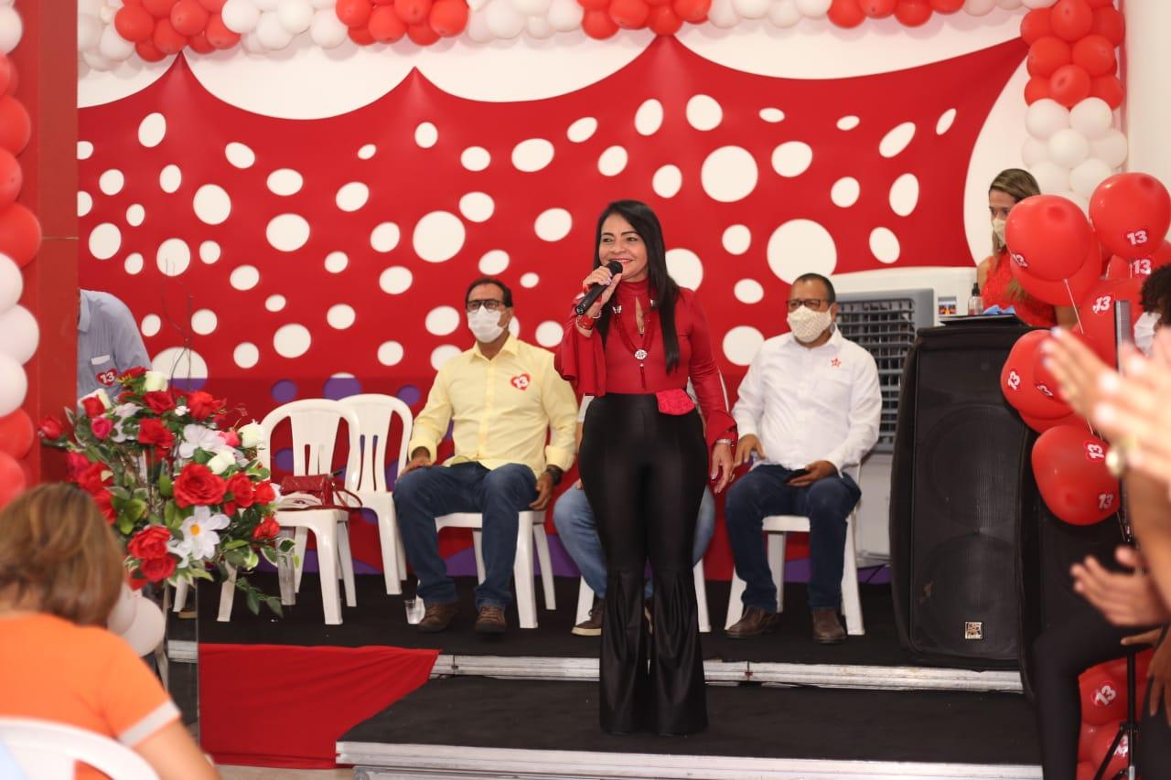 Moema inaugura comitê de campanha na Itinga com participação de João Leão