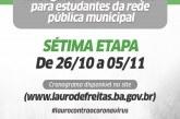 Prefeitura inicia 7ª etapa de entrega do kit alimentação para estudantes da rede pública municipal