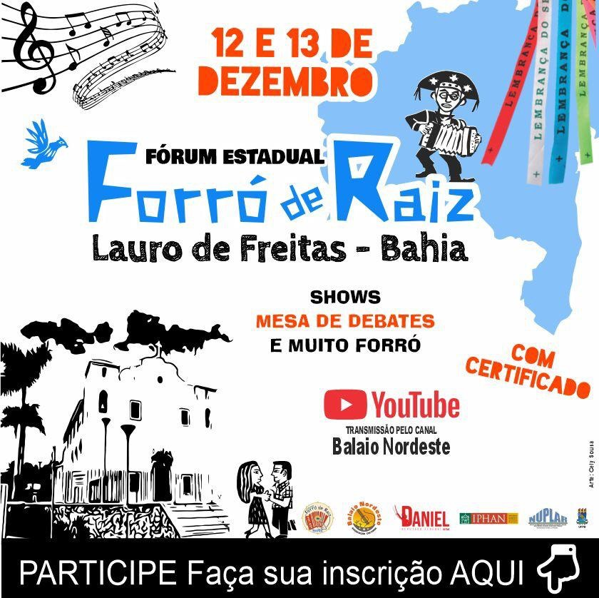 Lauro de Freitas recebe Fórum Forró de Raiz Online