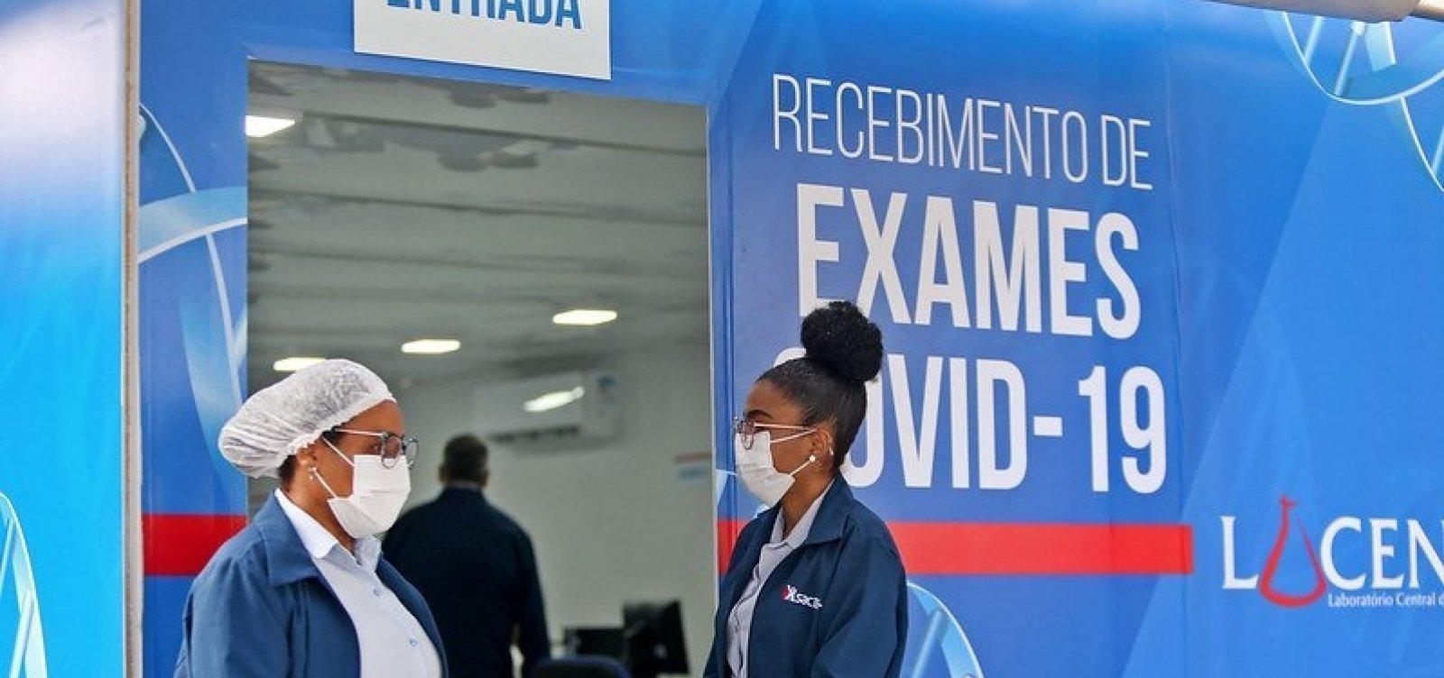 Bahia registra mais 1.590 casos de Covid-19 e 23 mortes pela doença nas últimas 24h