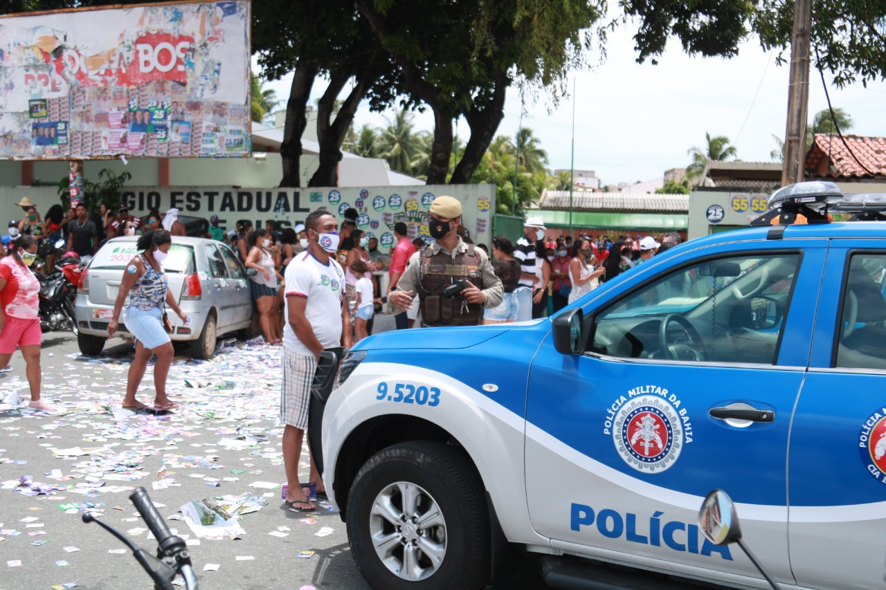 Lauro de Freitas reforça serviços públicos neste domingo de eleição