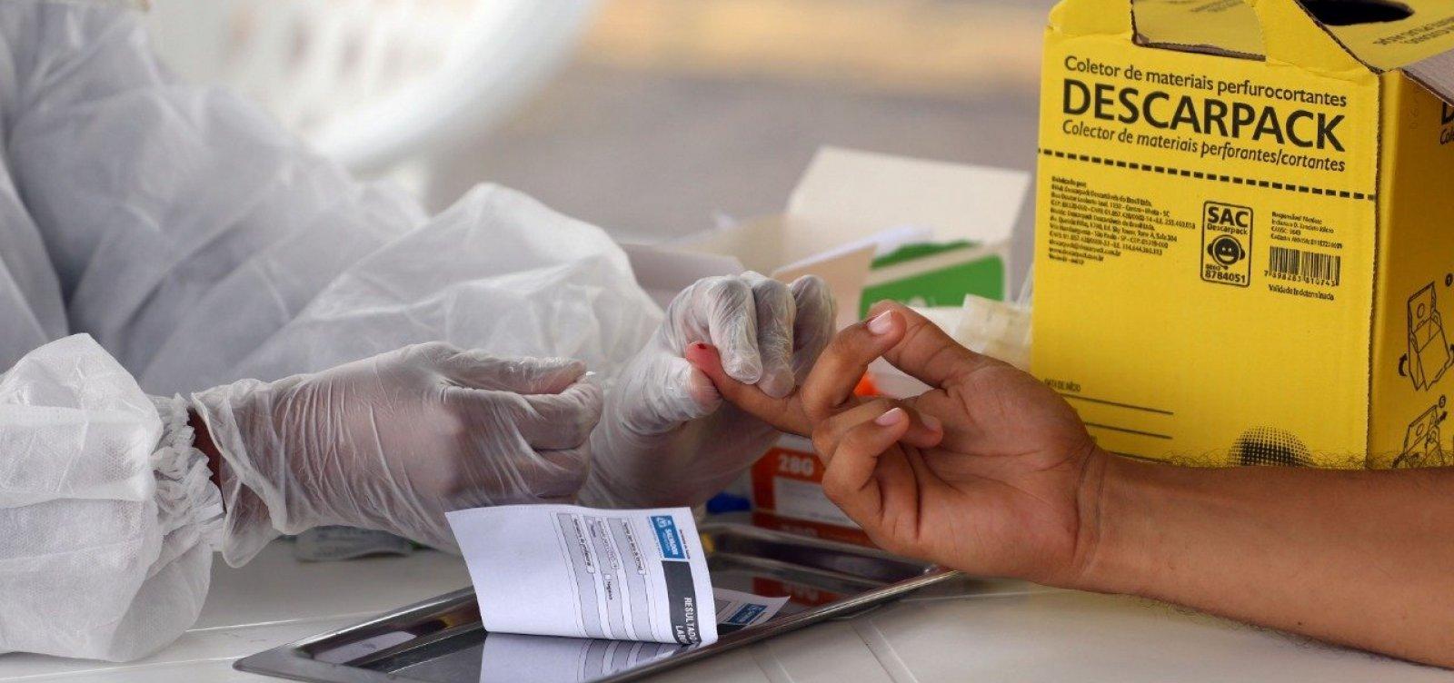 Bahia registra 25 óbitos e 3.118 novos casos de Covid-19 nas últimas 24h