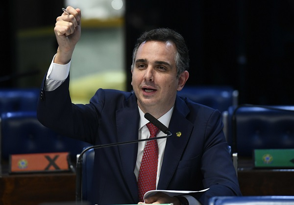 Com 57 votos, Rodrigo Pacheco é eleito presidente do Senado Federal