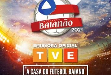 TVE vai transmitir Campeonato Baiano de 2021 e 22