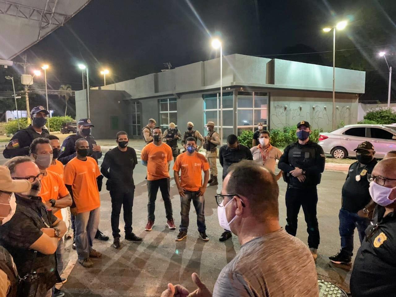 Vice-prefeito de Lauro de Freitas, Dr. Vidigal prestigia Força Tarefa de fiscalização noturna, neste sábado (27)